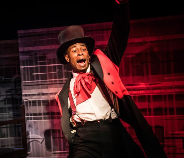 جنبش سیاهان به تئاتر رسید