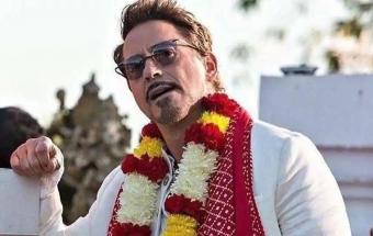 داونی جونیر:امیرخان تام هنکس سینمای هند است