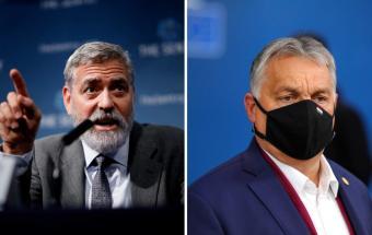 جدل جرج کلونی با دولت مجارستان
